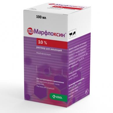 Марфлоксин® 10% раствор для инъекций