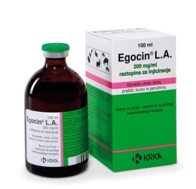 Эгоцин® L.A. раствор для инъекций
